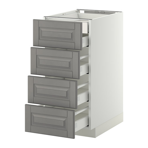 METOD - 廚櫃組合, 白色 Maximera/Bodbyn 灰色 | IKEA 香港及澳門 - PE358821_S4