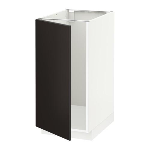 METOD - 星盆/垃圾分類用地櫃組合, white/Kungsbacka anthracite | IKEA 香港及澳門 - PE633957_S4