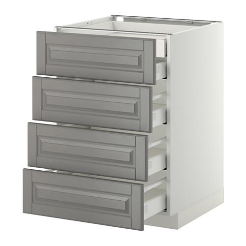 METOD - base cb 4 frnts/2 low/3 md drwrs, white Maximera/Bodbyn grey | IKEA Hong Kong and Macau - PE358151_S4