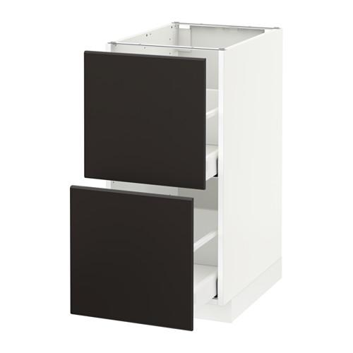 METOD - 廚櫃組合, 白色 Maximera/Kungsbacka 炭黑色 | IKEA 香港及澳門 - PE634051_S4