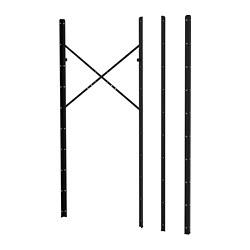 BROR - 側柱, 黑色   IKEA 香港及澳門 - PE682225_S3