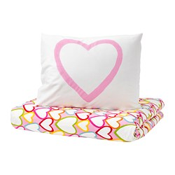 VITAMINER HJÄRTA - 被套枕袋套裝, 彩色 | IKEA 香港及澳門 - PE681870_S3