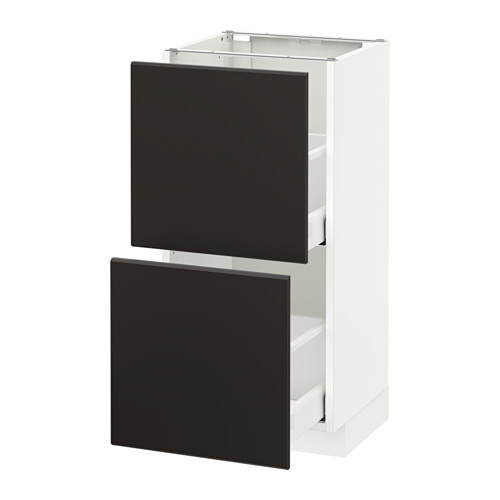 METOD/MAXIMERA base cabinet with 2 drawers