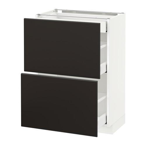 METOD/MAXIMERA 地櫃連面板抽屜組合