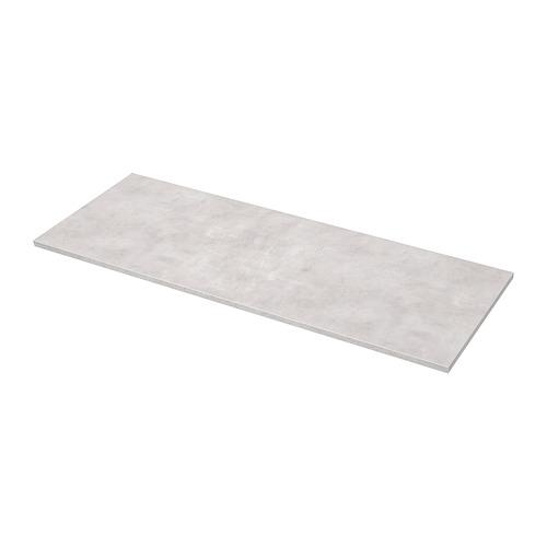 EKBACKEN - worktop, light grey concrete effect | IKEA Hong Kong and Macau - PE681894_S4