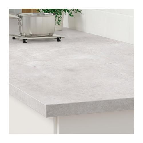 EKBACKEN - worktop, light grey concrete effect | IKEA Hong Kong and Macau - PE681897_S4