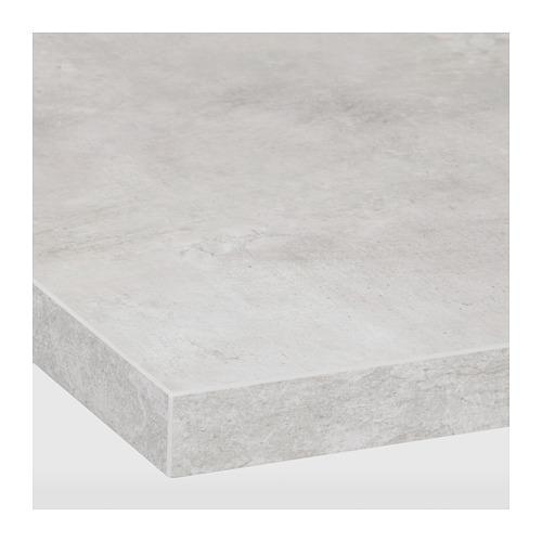 EKBACKEN - worktop, light grey concrete effect | IKEA Hong Kong and Macau - PE681899_S4
