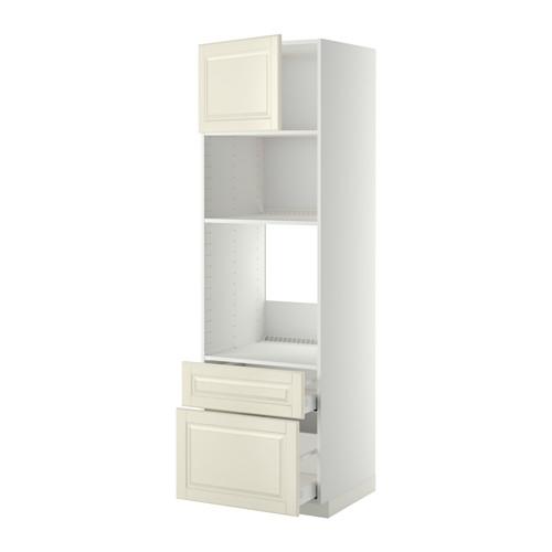 METOD/MAXIMERA - high cab f oven/micro w dr/2 drwrs, white/Bodbyn off-white | IKEA Hong Kong and Macau - PE358395_S4
