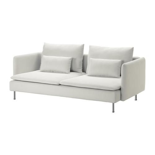SÖDERHAMN - 3-seat sofa, Finnsta white | IKEA Hong Kong and Macau - PE583254_S4