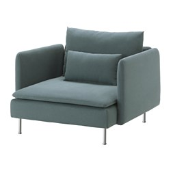 SÖDERHAMN - armchair, Finnsta turquoise | IKEA Hong Kong and Macau - PE583234_S3