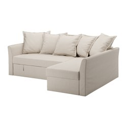 HOLMSUND - corner sofa-bed with storage, nordvalla beige | IKEA Hong Kong and Macau - PE577763_S3