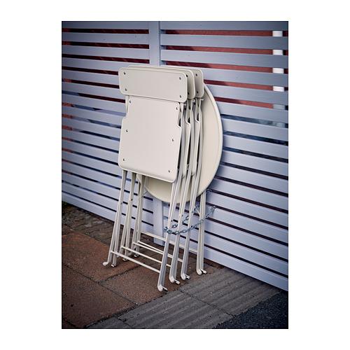 SALTHOLMEN - chair, outdoor, foldable beige | IKEA Hong Kong and Macau - PH146640_S4