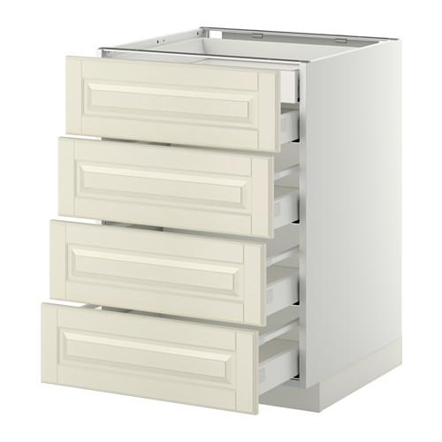 METOD - base cb 4 frnts/2 low/3 md drwrs, white Maximera/Bodbyn off-white | IKEA Hong Kong and Macau - PE358139_S4