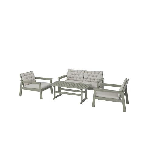 BONDHOLMEN 4-seat conversation set, outdoor