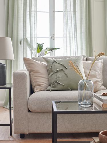 VIMLE - 3-seat sofa, Gunnared beige | IKEA Hong Kong and Macau - PH175954_S4