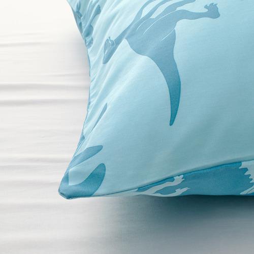 JÄTTELIK - quilt cover and pillowcase, dinosaur/blue | IKEA Hong Kong and Macau - PE769888_S4