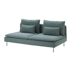 SÖDERHAMN - 3-seat section, Finnsta turquoise | IKEA Hong Kong and Macau - PE583244_S3