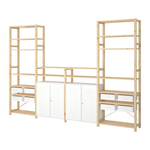 IVAR 4 sections/shelves/cabinet