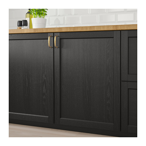 LERHYTTAN - door, black stained | IKEA Hong Kong and Macau - PE682295_S4