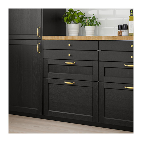 LERHYTTAN - drawer front, black stained | IKEA Hong Kong and Macau - PE682296_S4