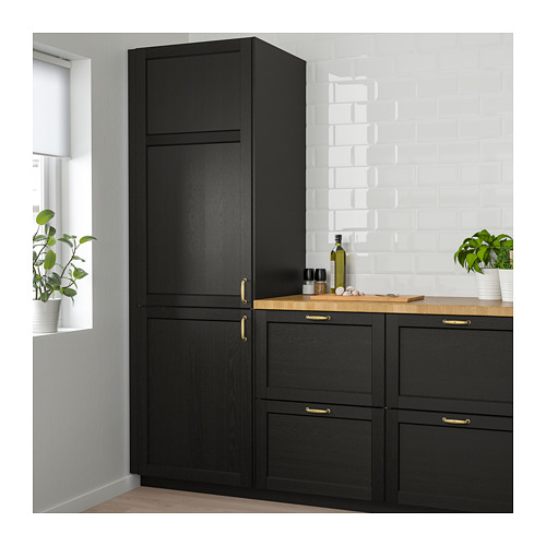 LERHYTTAN - door, black stained | IKEA Hong Kong and Macau - PE682301_S4