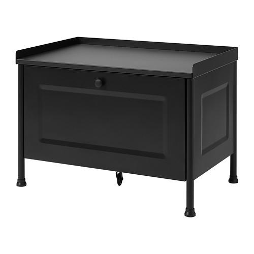 KORNSJÖ - storage bench, black   IKEA Hong Kong and Macau - PE769941_S4