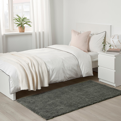 LINDKNUD - rug, high pile, dark grey   IKEA Hong Kong and Macau - PE769966_S4