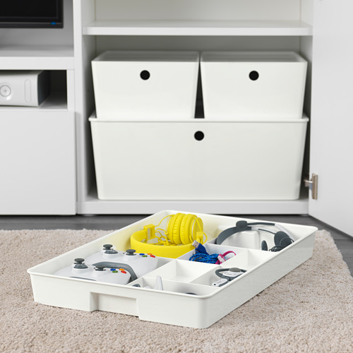KUGGIS - 內置8間隔貯物架, 36x53x6 cm, 白色 | IKEA 香港及澳門 - PE583679_S4