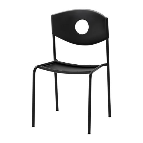 STOLJAN - chair frame with backrest, black | IKEA Hong Kong and Macau - PE570290_S4
