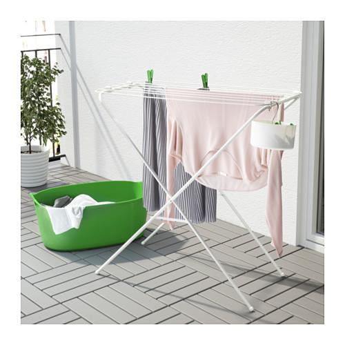 JÄLL - 曬衣架,室內/戶外用, 白色 | IKEA 香港及澳門 - PE567221_S4