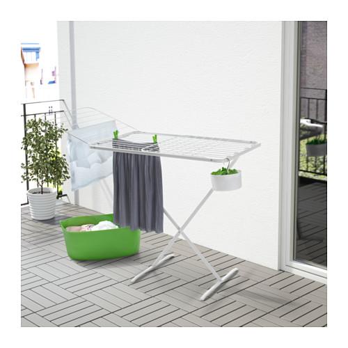 MULIG - drying rack, in/outdoor, white   IKEA Hong Kong and Macau - PE567227_S4