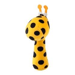 KLAPPA - 發聲毛公仔, 彩色/黃色 | IKEA 香港及澳門 - PE682419_S3