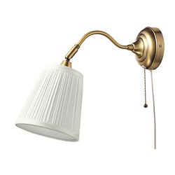 ÅRSTID - wall lamp, brass/white | IKEA Hong Kong and Macau - PE682428_S3