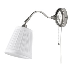 ÅRSTID - wall lamp, nickel-plated/white | IKEA Hong Kong and Macau - PE682427_S3