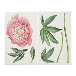 KINNARED - decoration stickers, Pink peony | IKEA Hong Kong and Macau - PE725948_S3