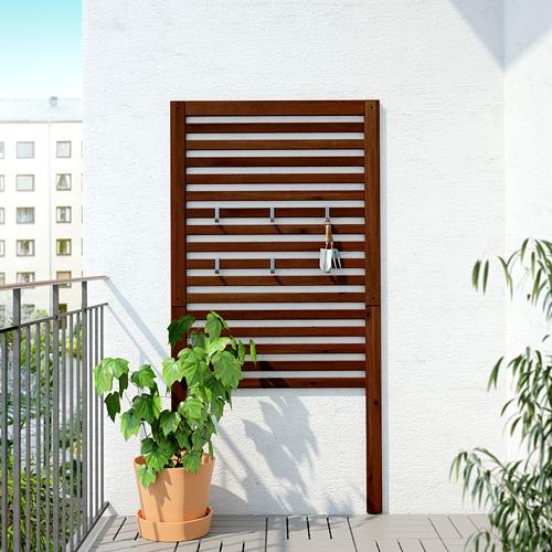 ÄPPLARÖ - wall panel, outdoor, brown stained   IKEA Hong Kong and Macau - PE619327_S4