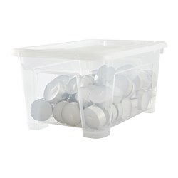 SAMLA - 5 litres box with lid | IKEA Hong Kong and Macau - PE682548_S3