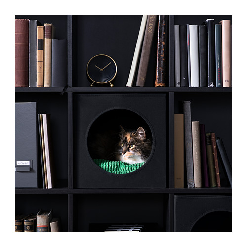 LURVIG - 貓屋, 黑色 | IKEA 香港及澳門 - PE725990_S4
