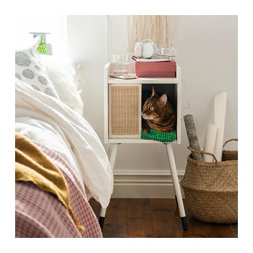 LURVIG - 貓屋連支腳, 白色   IKEA 香港及澳門 - PE726010_S4