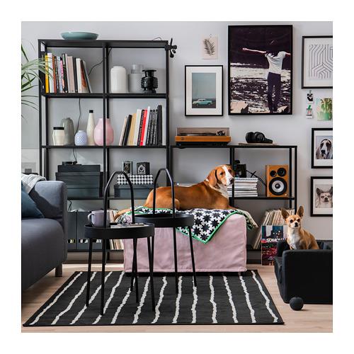 LURVIG - 貓/狗床, 黑色   IKEA 香港及澳門 - PE726013_S4
