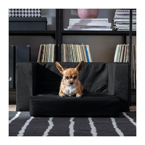 LURVIG - 貓/狗床, 黑色   IKEA 香港及澳門 - PE726012_S4