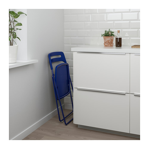 NISSE/MELLTORP - table and 2 folding chairs, white/dark blue-lilac | IKEA Hong Kong and Macau - PE682620_S4