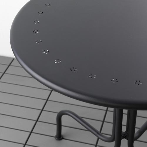LÄCKÖ/VIHOLMEN - 戶外餐檯椅組合, 灰色/深灰色 | IKEA 香港及澳門 - PE565998_S4