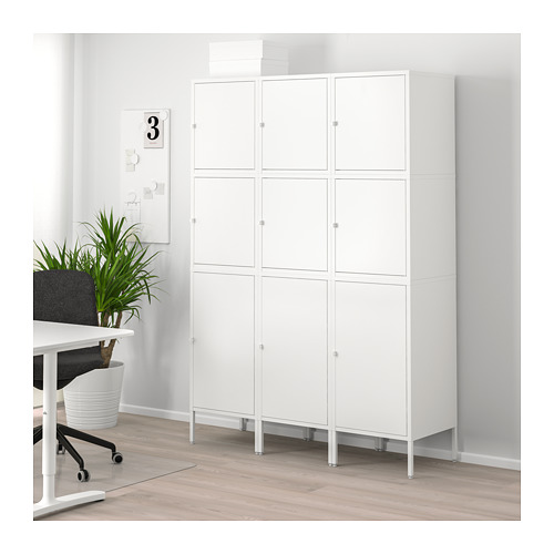 HÄLLAN - 貯物組合連門, 白色 | IKEA 香港及澳門 - PE682685_S4