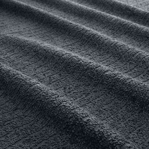 TRÄTTEN - 乾髮巾, 深灰色/白色 | IKEA 香港及澳門 - PE770231_S4