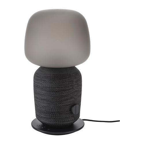 SYMFONISK - 座檯燈連Wi-Fi喇叭, 黑色   IKEA 香港及澳門 - PE726106_S4