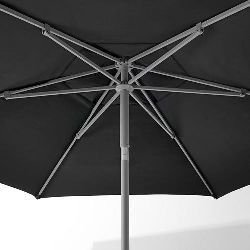 LINDÖJA/KUGGÖ parasol with base