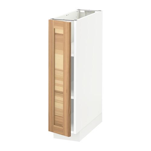 METOD - base cabinet with shelves, white/Torhamn ash | IKEA Hong Kong and Macau - PE567724_S4