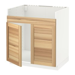 METOD - HAVSEN雙星盆底櫃, 白色/Torhamn 梣木 | IKEA 香港及澳門 - PE567754_S3