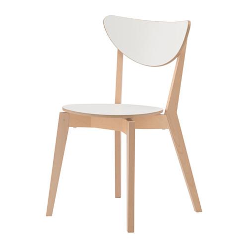 NORDMYRA - chair, white/birch | IKEA Hong Kong and Macau - PE635042_S4